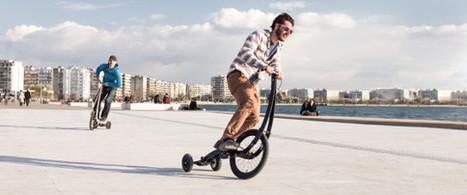 VIDÉO. Halfbike, le vélo du futur à conduire debout qui cartonne sur Kickstarter | Geek en vrac - Actus | Scoop.it
