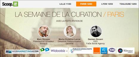 Scoopit à Paris ! La semaine de la curation de contenu   La Curation, avenir du web ?   Scoop.it