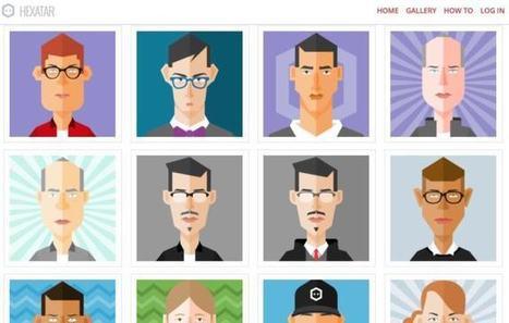 3 sites pour vous créer un avatar à votre image – Les Outils Tice | Mon Environnement d'Apprentissage Personnel (EAP) | Scoop.it