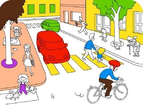 Jeu pour apprendre la sécurité routière   enseignement en primaire   Scoop.it