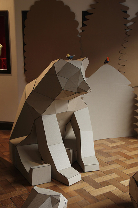 See Argentina's Endangered Species Preserved As Cardboard Sculptures | The Creators Project | All About Arts | Scoop.it