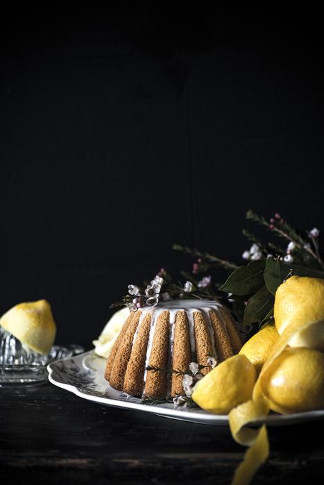 Gluten-free & vegan Lemon Cake... | Vegan Food | Scoop.it