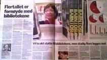 Flertallet er fornøyd med bibliotekene - NORSK BIBLIOTEKFORENING | Skolebibliotek | Scoop.it