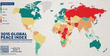 A Global Geography of Peace (and Violence) | JWK Geography | Scoop.it