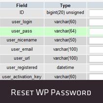 How to Reset a WordPress Password from phpMyAdmin | Online Marketing Resources | Scoop.it