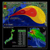Radiation Map From Fukushima to US