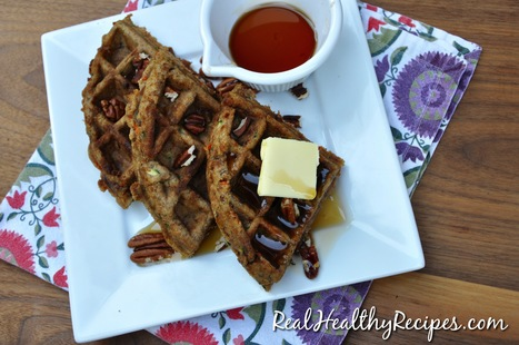 Zucchini and Carrot Spice Waffles | Nutrition & Recipes | Scoop.it