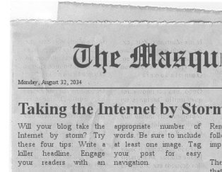 The Masquerade Crew: Will your blog take the Internet by storm? | The Joys of Blogging | Scoop.it
