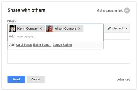 Google Drive Blog: Smarter sharing in Drive and Docs | Using Google Drive in the classroom | Scoop.it