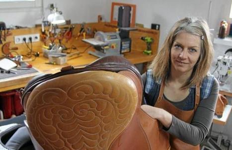 Journée des métiers d'art. L'atelier Balzane, ou l'art de sublimer le cuir | Métiers, emplois et formations dans la filière cuir | Scoop.it