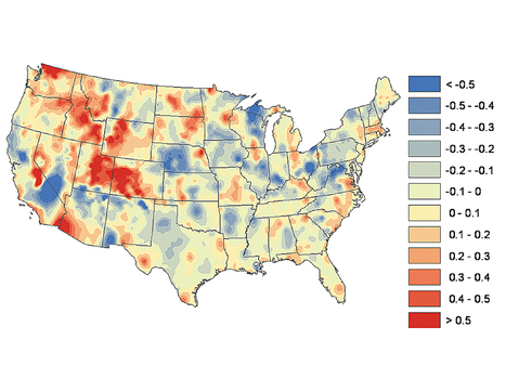 Purdue Newsroom - Study gives clearer picture of how land-use changes affect U.S. climate | AP Human Geography, WHS 2012-2013 | Scoop.it