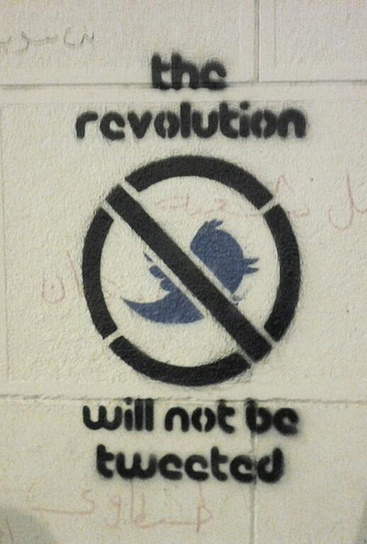 The Revolution Will Not Be Tweeted by Ramy Raoof | Twit4D | Scoop.it