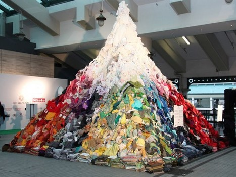 A 16-foot mountain of secondhand clothing in HK | Trends in Sustainability | Scoop.it