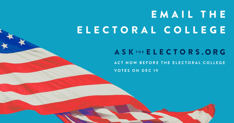 Lisa Durff's Letter to Members of the Electoral College | Durff | Scoop.it