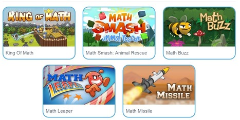 Math Games - Free Math Practice Games and Apps | Differentiated and ict Instruction | Scoop.it