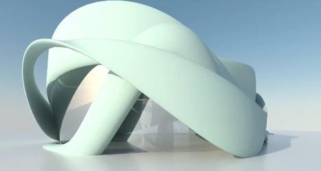 Le premier bâtiment européen imprimé en 3D | D'Dline 2020, vecteur du bâtiment durable | Scoop.it