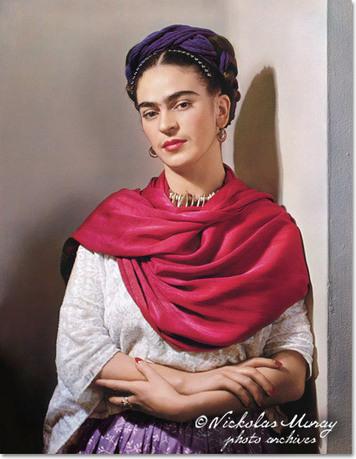Las fotografías de la señora Kahlo por Nickolas Muray   Latin ...   Web Design and Related   Scoop.it