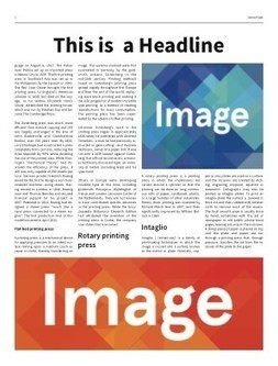 Make a Newspaper Online with ARTHR | Digital Learning, Technology, Education | Scoop.it