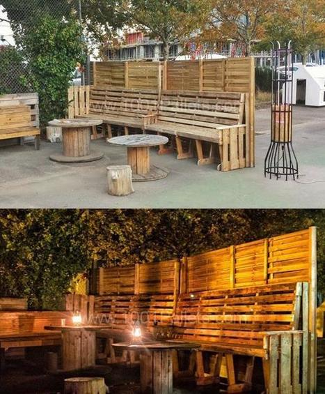 Amazing Uses For Old Pallets - 22 Pics | Upcycled Objects | Scoop.it