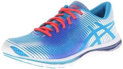 factory price 11081 af795 ASICS Women s GEL-Super J33 Running Shoe,Blue Atoll White Dazzling Blue,9 M  US