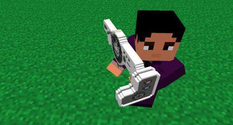 minecraft 1.7 2 mod 3d guns