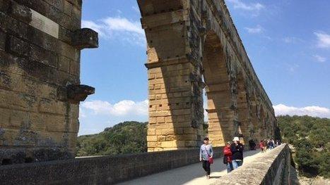 Le Pont du Gard enfin gratuit pour les piétons et les cyclistes - France 3 Languedoc-Roussillon | Images et infos du monde viticole | Scoop.it
