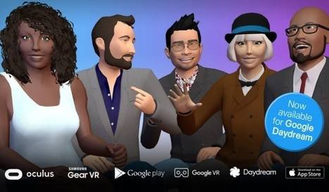 vTime, la red social de realidad virtual, ya es compatible con la plataforma de Google | Bits on | Scoop.it