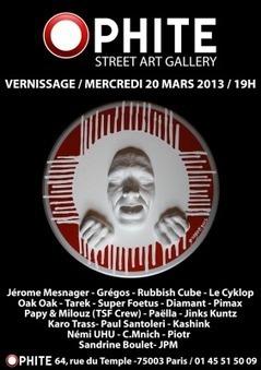 Exposition à la galerie Ophite // Paris, mars 2013   Tous les événements à ne pas manquer !   Scoop.it
