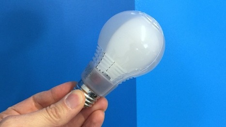 cree s led light bulb it looks and works like the real thing