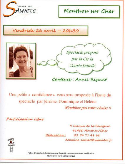 Spectacle Domaine Sauvète vendredi 26 avril à 20h30 | Tourisme du vin | Scoop.it
