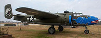 B-25 Mitchell with cool nose art | WW2 Bomber - Nose Art | Scoop.it