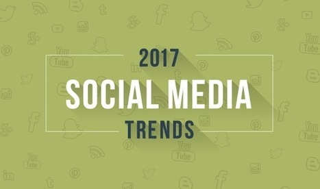 Social Media Trends You Need To Know In 2017 (infographic) by Irfan Ahmad | e-Commerce and User Experience (UX) | Scoop.it