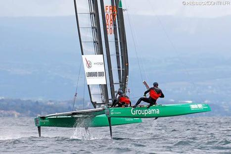 Little America's Cup - Groupama C wins first two races in Geneva | Wing sail technology | Scoop.it