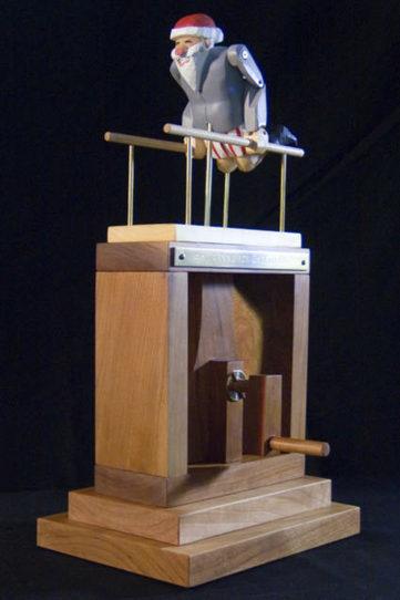 The Automata / Automaton Blog: Flying, exercising, and dancing Santa automata | Heron | Scoop.it