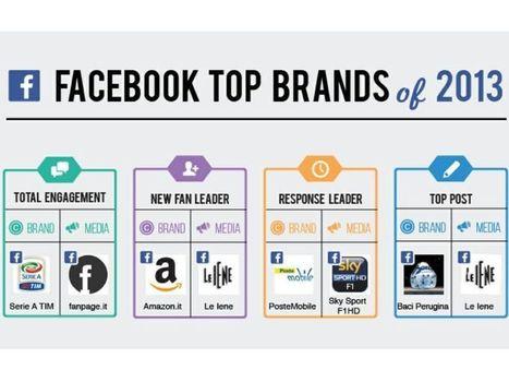 I brand italiani con le migliori performance su Facebook: pubblicato il monitoraggio Blogmeter per il 2013 | Allicansee | Scoop.it