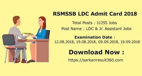 alp admit card 2019 sarkari result