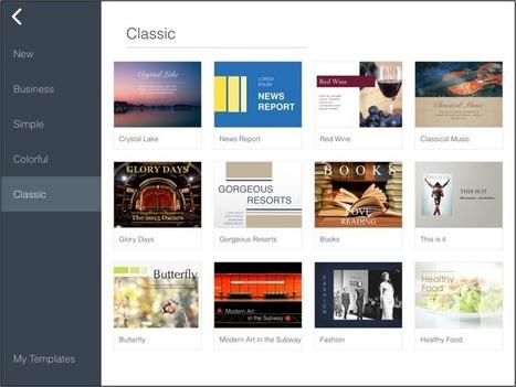 SlideIdea: An Innovative, Interactive Presentation App for the iPad | GeekThis | Scoop.it