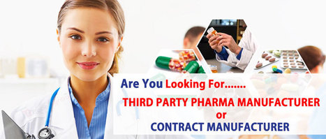 Third Party Manufacturing Pharma Company in Ind
