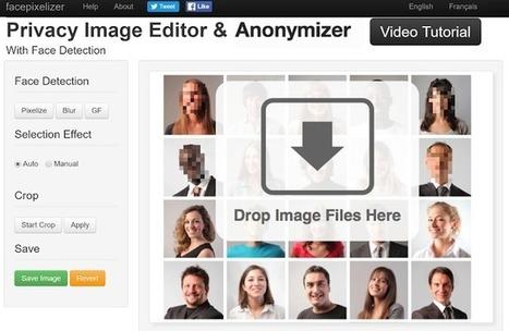 Facepixelizer, editor de gratuito de imágenes especializado para pixelar rostros | Las TIC en el aula de ELE | Scoop.it