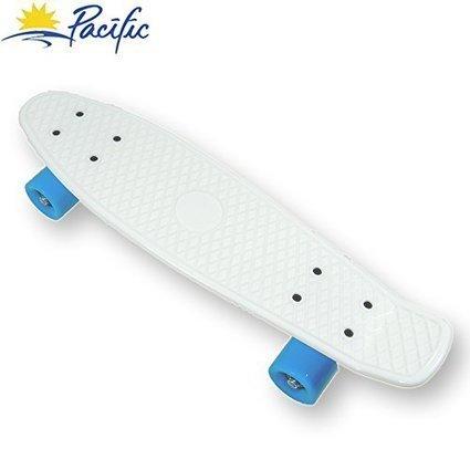 retro mini Cruiser Complete Skateboard Penny Style deck Street Skate board  plastic (White) abbd468fb7c