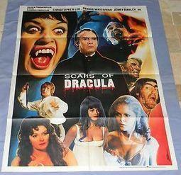 SCARS OF DRACULA *Org 70 Pakistani 1-Sht* CHRISTOPHER LEE * Hammer Horror * Rare   Hammer Horror Podcast   Scoop.it