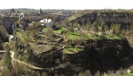 Bozouls : quatre passerelles pour enjamber le canyon ! | L'info tourisme en Aveyron | Scoop.it