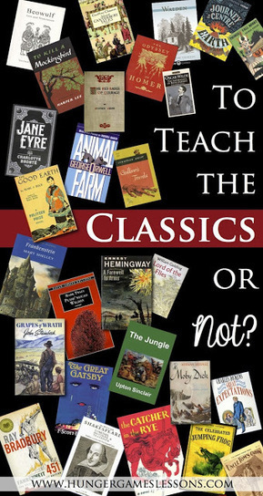 Hunger Games Lessons: Do You Teach the Classics? | Common Core Resources for ELA Teachers | Scoop.it