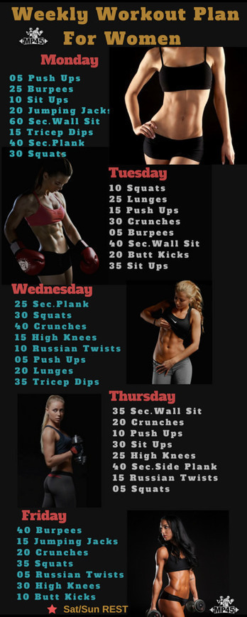 Beginners workout for women in day workout program scoop