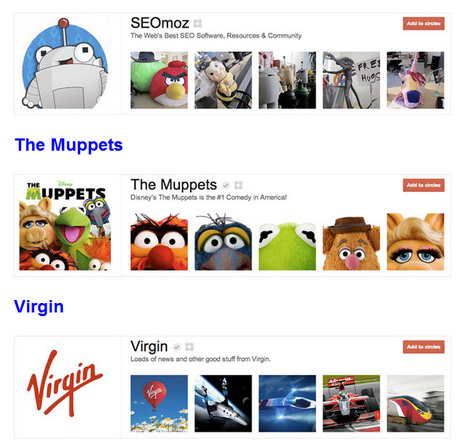 25 Great Examples of Google Plus Brand Pages | Social Media Maven | Scoop.it
