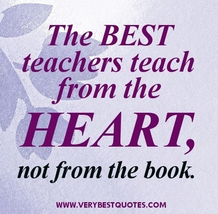 Inspirational teacher quotes – best teach...