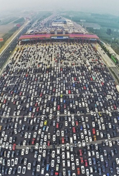 Your Wimpy Commute Has Nothing on China's Ridiculous 50-Lane Traffic Jam | Geography for All! | Scoop.it