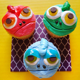 Pascal Cupcakes | Food | Disney Baking Recipes | Scoop.it