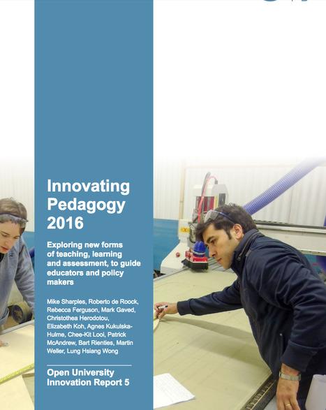 [PDF] Innovating Pedagogy 2016 | Tablets na educação | Scoop.it