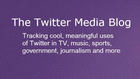 [Twitter] Twitter lance un blog dédié aux médias pour partager les bonnes pratiques | Communication - Marketing - Web_Mode Pause | Scoop.it